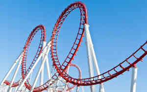 Emotional counselling London, Camden, Kings Cross & emotional therapy - feelings and emotions rollercoaster